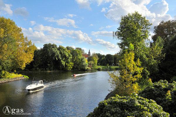 Immobilienmakler Brandenburg (Havel) - Partie am Wasser