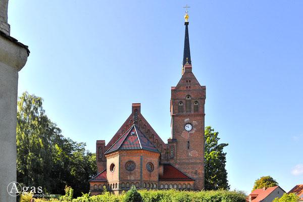 Potsdam-Golm - Die neugotische Ev. Kaiser-Friedrich-Kirche (3)