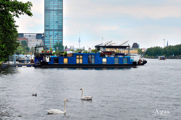 Hausboote in Berlin & Brandenburg am Liegeplatz (11)