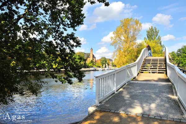 Brandenburg (Havel) - Gottfried-Krüger-Brücke am Heinrich-Heine-Ufer
