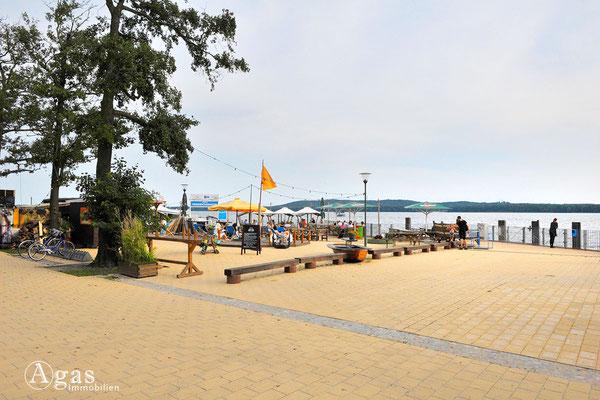 """Uferpromenade und """"Windflüchter"""""""