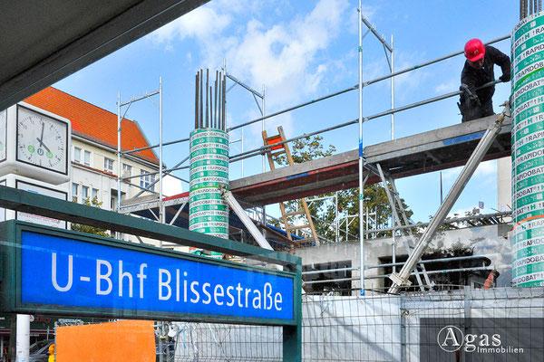 Uhland 103 Berlin - Wilmersdorf - Neubau am U-Bhf Blissestraße