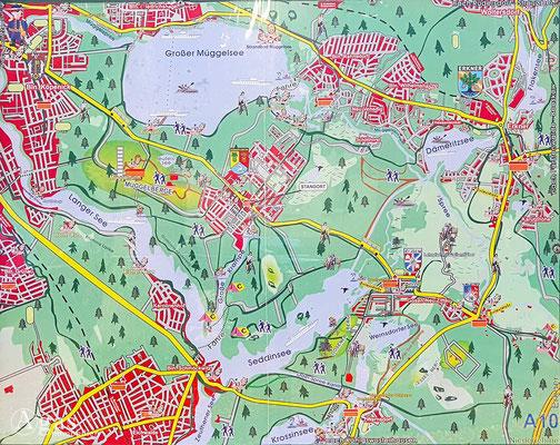 Immobilienmakler Müggelheim - Landkarte