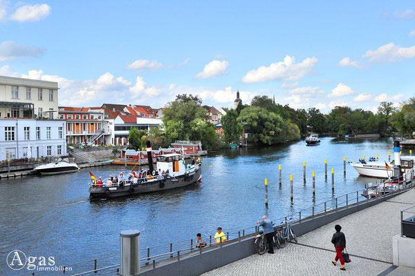 Immobilienmakler Brandenburg (Havel) - Schifffahrt auf der Brandenburger Niederhavel