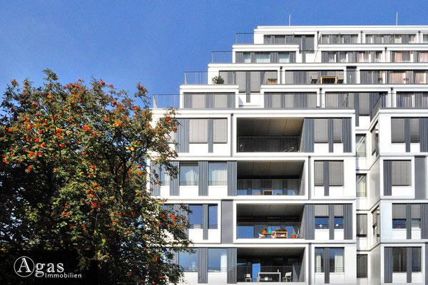 yoo Berlin - Am Zirkus 1 - Terrassenförmige Balkone am Spreeufer