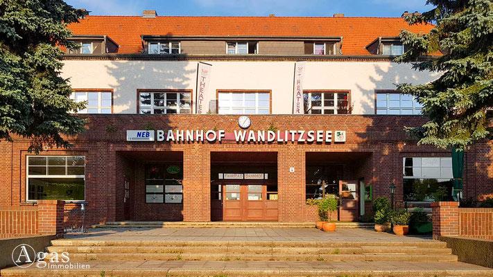 Makler Wandlitz - Bahnhof Wandlitz