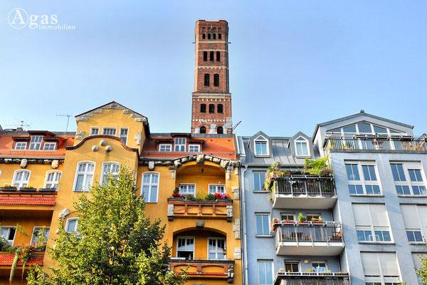 Immobilienmakler Lichtenberg - Rummelsburg, Der Schrotkugelturm