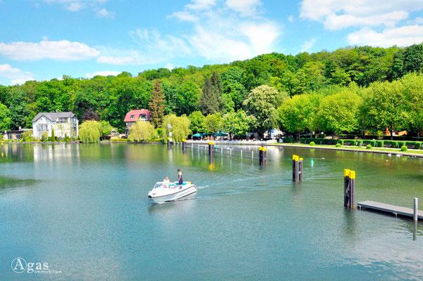 Woltersdorf - Blick auf den See (1)