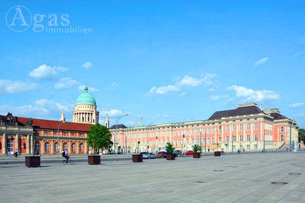 Immobilienmakler Potsdam - Landtag Brandenburg im Stadtschloss Potsdam