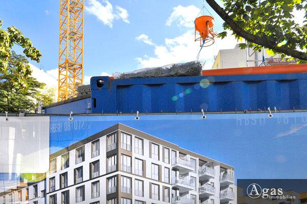 Uhland 103 Berlin - Wilmersdorf - Neubauprojekt, Baustelle
