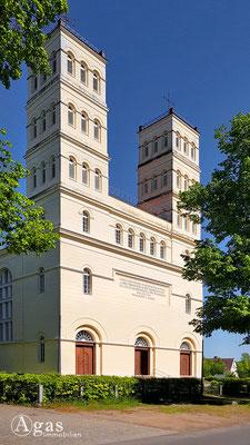 Immobilienmakler Straupitz - Klassizistische Ev. Dorfkirche Straupitz von Karl Friedrich Schinkel