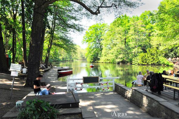 Berlin-Tiergarten - Café am Neuen See