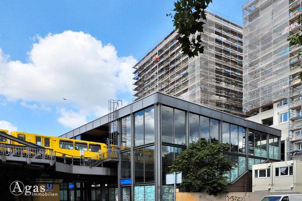High Park Berlin - Eingerüsteter Neubau am Mendelsson-Bartholdy-Park