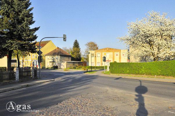 Mühlenbeck - Von der Schönfließer- auf die Haupstraße, Sparkasse