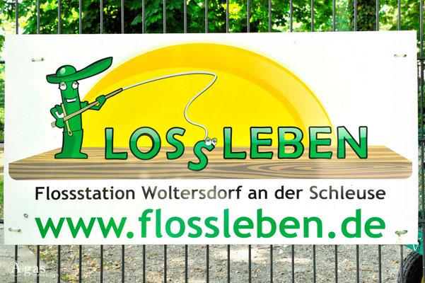 Woltersdorf - Flossverleih am Flakensee