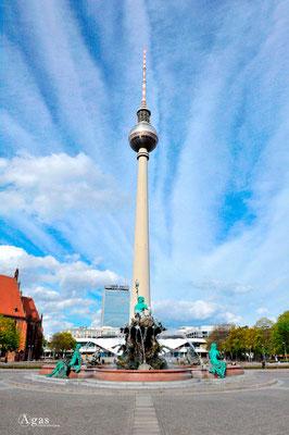 Berlin-Mitte, Fernsehturm & Neptunbrunnen
