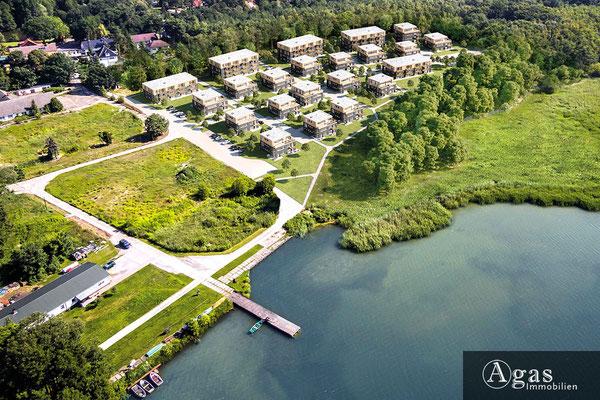 Am Pätzer See - Eigentumswohnungen - Luftbild mit See