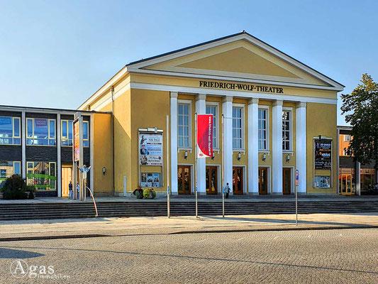 Immobilienmakler Eisenhüttenstadt - Friedrich-Wolf-Theater an der Lindenallee