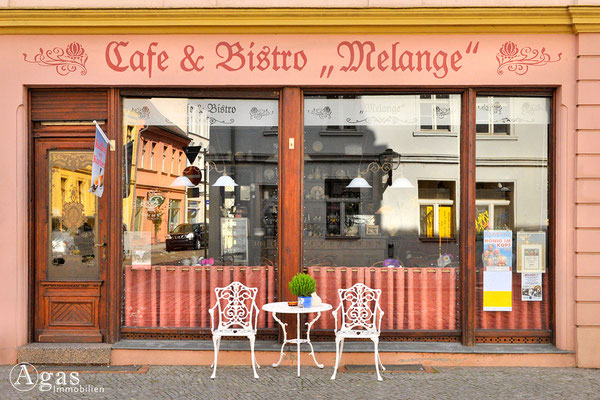 "Brandenburg (Havel) - Café & Bistro ""Melange"" in der Altstadt"