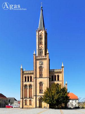 Immobilienmakler Fürstenberg - Stadtkirche Fürstenberg/Havel