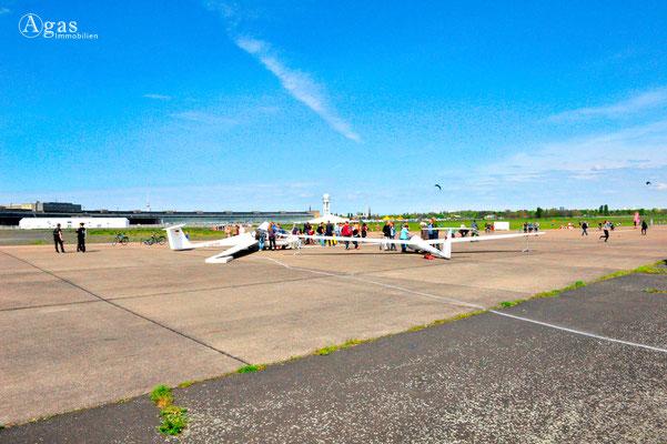 Berlin-Tempelhof - ehemal. Flughafen Tempelhof, Segelflugtage Berlin