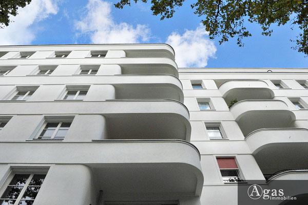Kurfürsten-Logen - Balkone Straßenseitig