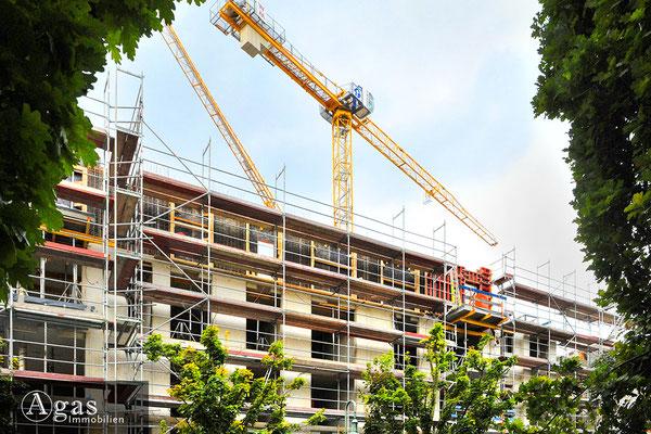 Nio Skandinavisches Viertel - Baustellenimpression bei der Bornholmer Brücke