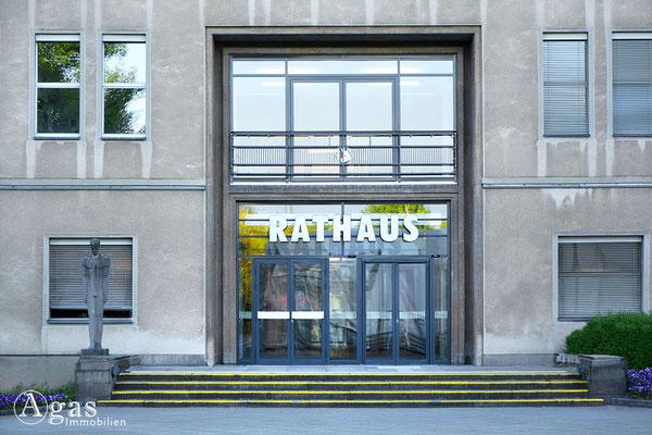 Immobilienmakler Reinickendorf - Erweiterungsbau des Rathaus Reinickendorf aus dem Jahr 1950 bis 1957