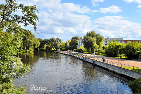 Immobilienmakler Oranienburg - Auf dem Louise-Henriette-Steg - Uferterrassen
