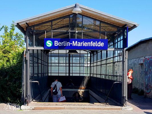 Immobilienmakler Marienfelde - S-Bahn Eingang Marienfelde