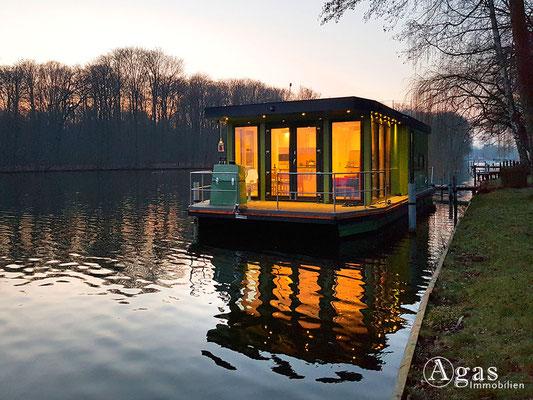 Ihr Hausboot - Ansicht Liegeplatz 1