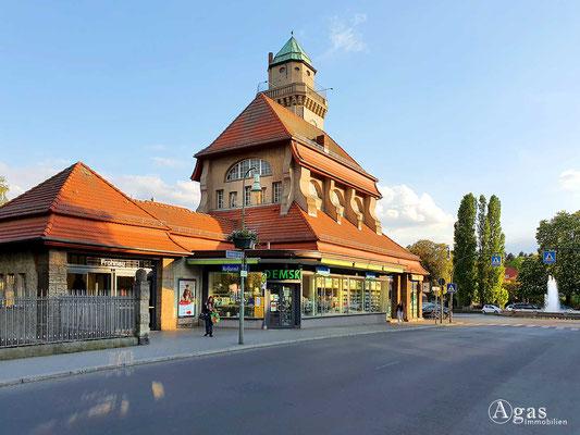 Immobilienmakler Frohnau - Bahnhofsgebäude Berlin Frohnau