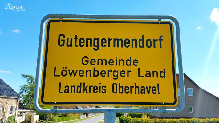 Gutengermendorf, Ortseingang