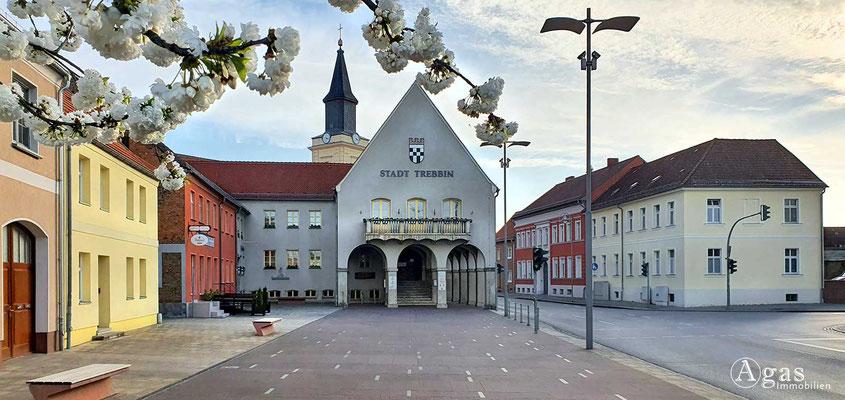 Immobilienmakler Trebbin - Rathaus a. d. Luckenwalder Straße