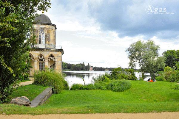 Immobilienmakler Potsdam - Gotische Bibliothek im Neuen Garten