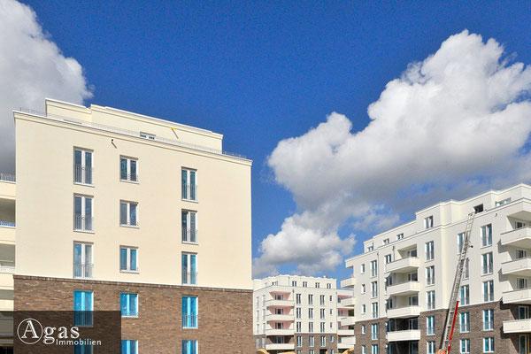 Brunnen Viertel Potsdam - Baufortschritte in der Brunnenallee