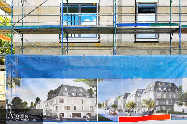 Villen im Prinzenviertel - Berlin-Lichtenberg - Eigentumswohnungen bei den Kaisergärten (Baustellenimpression)