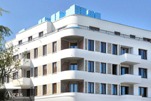 HAAKE Höfe Spandau - Fassadendetail an der Goltzstraße
