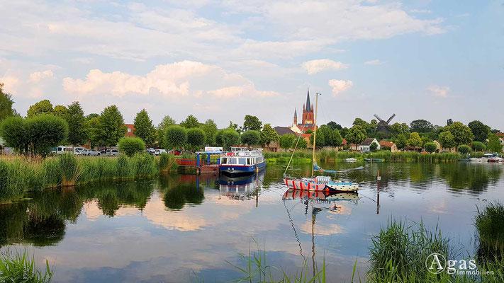 Werder (Havel) - Havelblick auf Werder (Unter den Linden)
