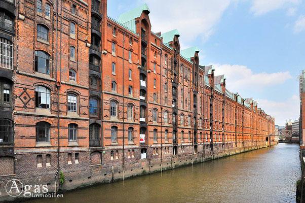 Immobilienmakler Hamburg - Speicherstadt am Brooksfleet
