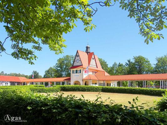 Bad Saarow - Bahnhofsgebäude - Architektur von Emil Kopp