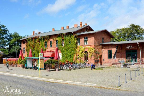 Dallgow-Döberitz - Ehem. Empfangshalle des Bahnhofs