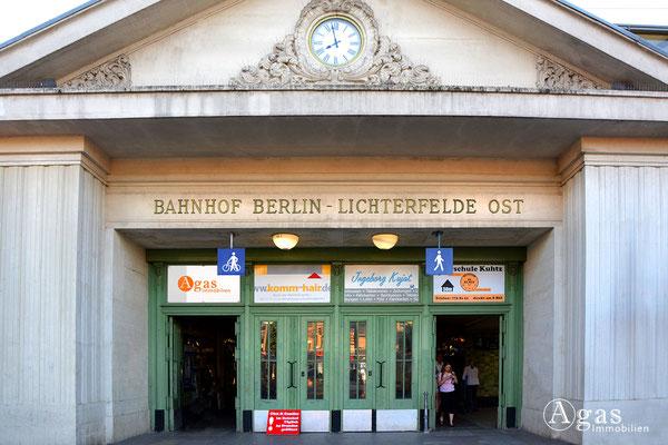 Immobilienmakler Lichterfelde - Bahnhof Lichterfelde Ost
