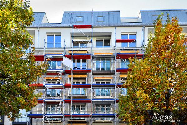 Quartier Nikolsburg - Berlin-Wilmersdorf - Baufortschritte an der Nikolsburger Straße