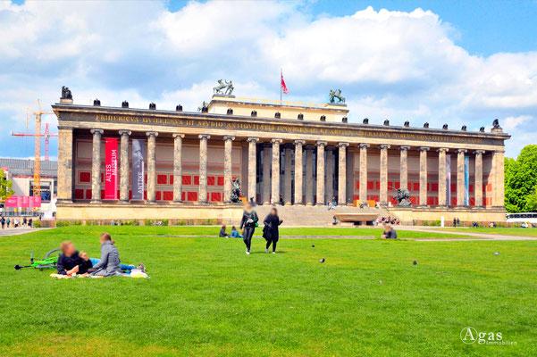 Immobilienmakler Berlin-Mitte, Lustgarten mit dem Alten Museum