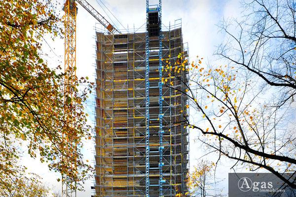 HIGH WEST Berlin-Charlottenburg - Baufortschritte am Wohnturm