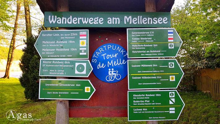 Makler Mellensee - Wandern Rund um den Mellensee