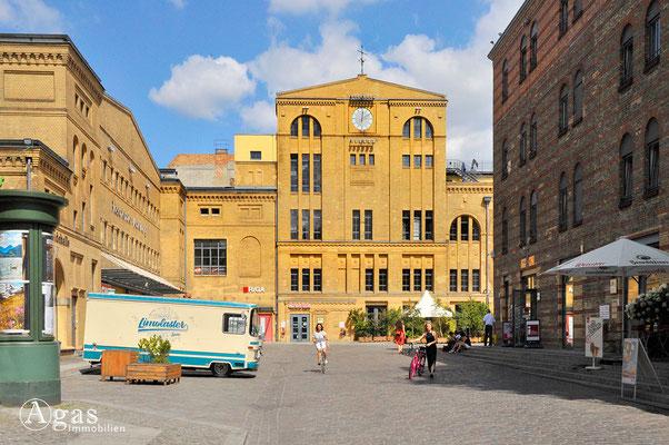 Prenzlauer Berg - Eingang zur KulturBrauerei am Franz-Club