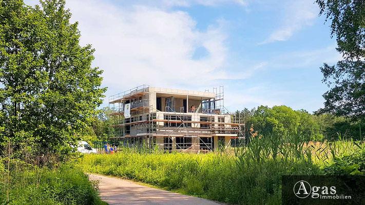 Am Pätzer See - Baufortschritte in Bestensee im Mai 2018