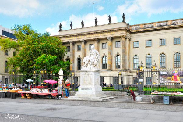 Berlin-Mitte, Humboldt Universität zu Berlin, Unter den Linden